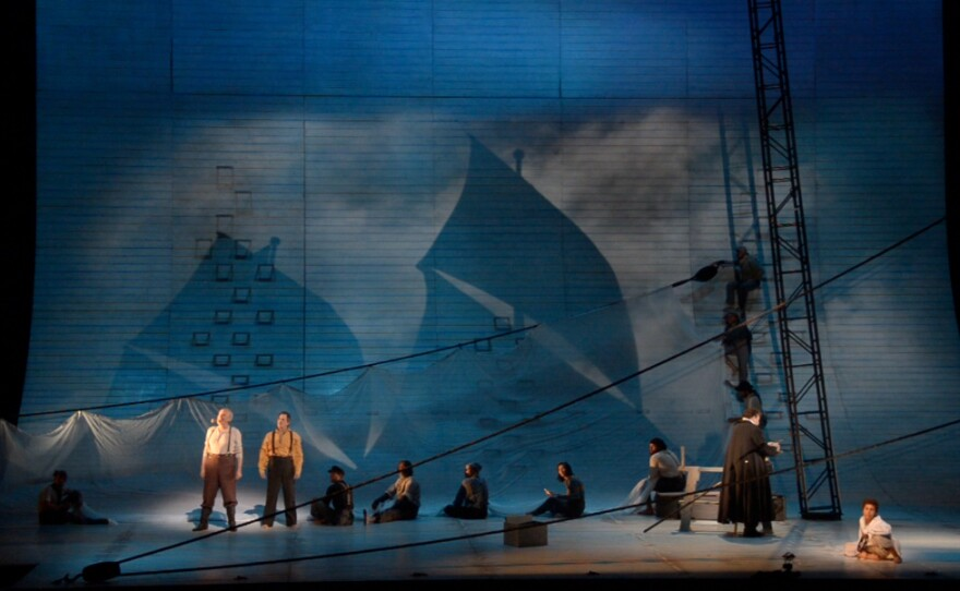 """Robert Brill's set design for """"Moby-Dick."""""""
