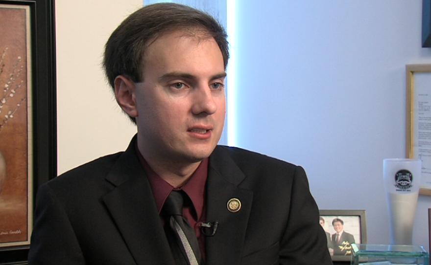 Vista City Councilman Cody Campbell, October 2014.