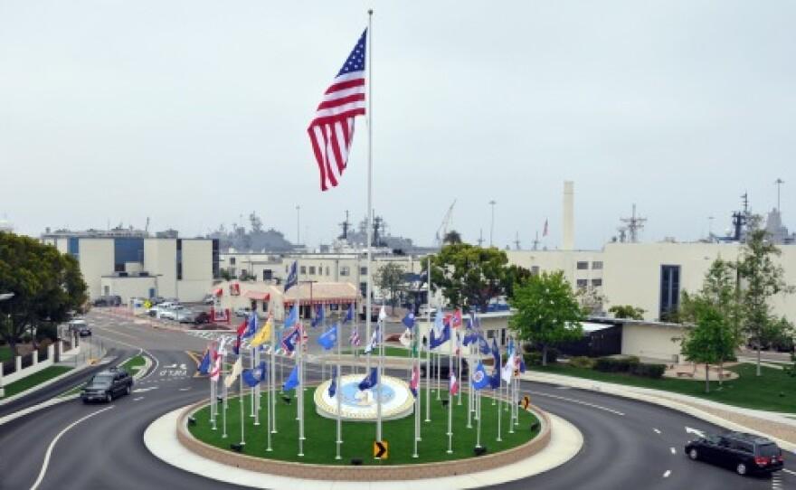 Navy Base San Diego in an undated photo.