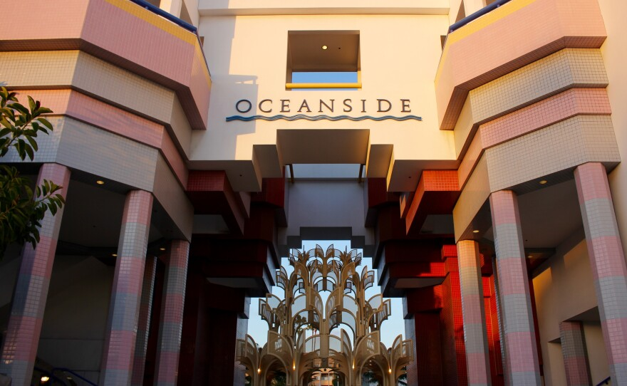 Oceanside City Hall, March 2017.