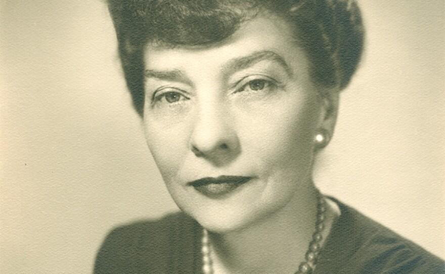 Portrait of Elizebeth S. Friedman. (Undated)