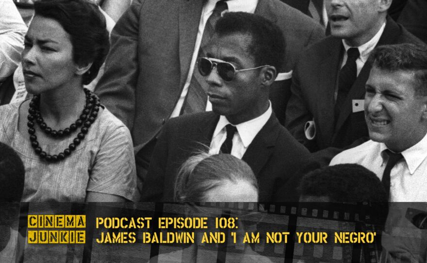 """The Oscar-nominated documentary """"I Am Not Your Negro"""" focuses on the writings of African American poet, essayist, novelist, and social critic James Baldwin (center)."""
