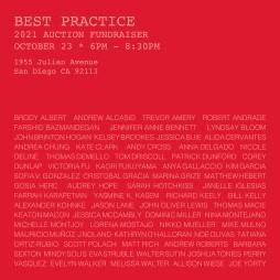 Best Practice Fundraiser Flyer 2021