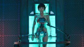 """Scarlett Johansson stars as The Major, a human-cyborg hybrid, who is part of a an elite task force known as Section 9 in the live action remake of the 1995 Japanese anime """"Ghost in the Shell."""""""