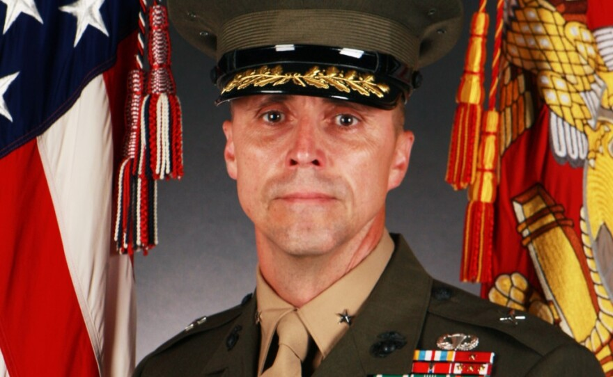 Maj. Gen. Robert F. Castellvi Robert F. Castellvi in a file photo dated July 8, 2013.