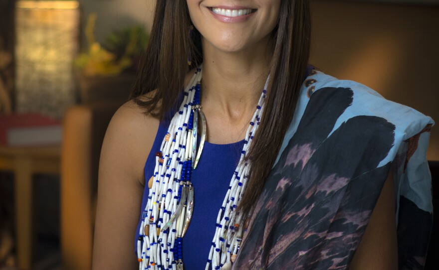 Portrait photo of American Indian Heritage Month Local Hero Joely Proudfit