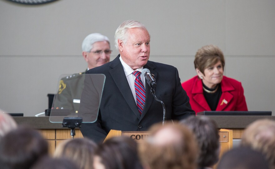 San Diego County Board of Supervisors Vice Chair Bill Horn at 2014 State of the County Address