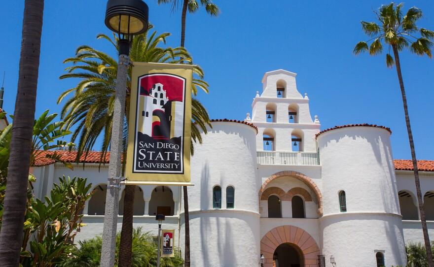 San Diego State University's Hepner Hall.