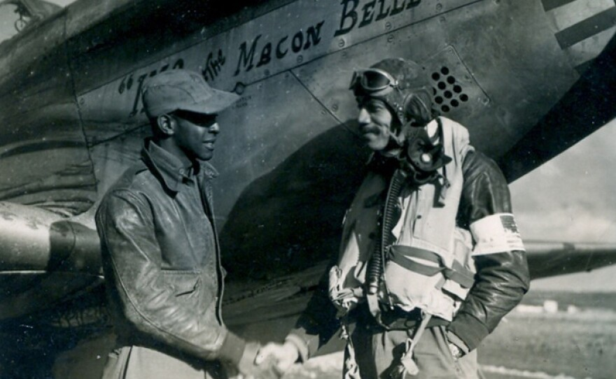 """""""In Their Own Words"""" highlights the Tuskegee Airmen through interviews of the surviving service men. The documentary screens as part of this year's GI Film Festival's Virtual Showcase."""