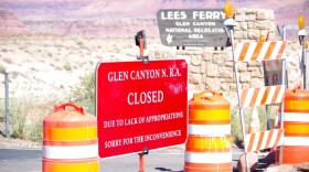 Lees Ferry at Glen Canyon was closed Tuesday due to the government shutdown. Photo Courtesy of John Dillon, Grand Canyon River Outfitters Associatio