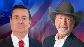 San Diego supervisorial candidates Joel Anderson (left) and Steve Vaus (right) in these undated campaign photos.