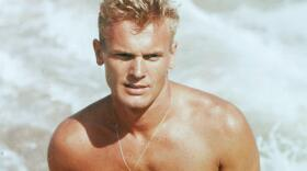 Tab Hunter at the height of his heartthrob year.