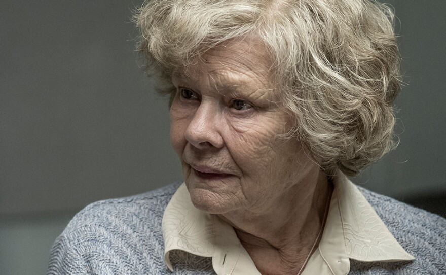 """Judi Dench stars as Joan Stanley, an elderly woman accused of having been a spy in the film """"Red Joan."""""""