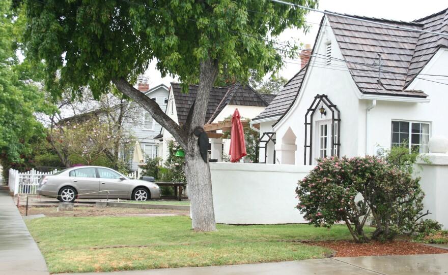 Homes in the San Diego neighborhood; El Cerrito.