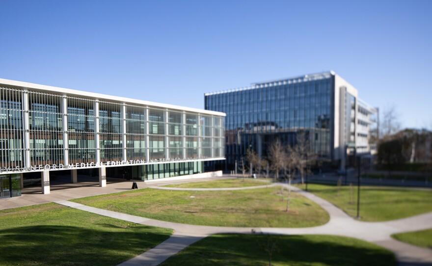 The UC San Diego School of Medicine campus is shown on Feb. 1, 2020.