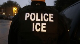 A U.S. Immigration and Customs Enforcement officer is pictured in this undated photo.