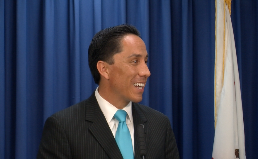 Interim Mayor Todd Gloria talks about handing the reins over to Mayor Elect Kevin Faulconer.