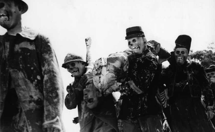 """The striking undead soldiers that appear in Abel Gance's 1938 revised version of his 1919 film """"J'Accuse."""""""
