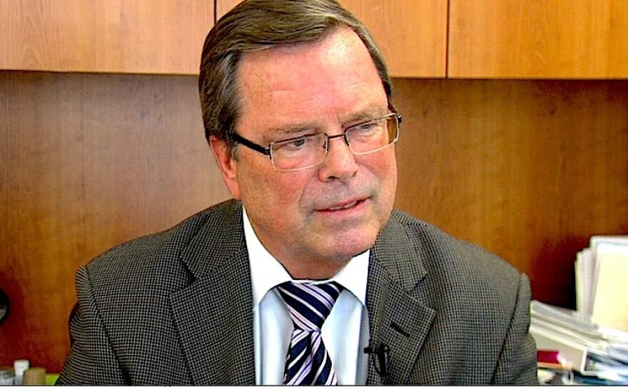 Dr. Michael Plopper, medical director at Sharp Mesa Vista Hospital, is shown, June 23, 2015.