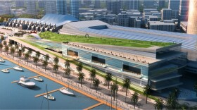 Concept photo of the proposed expansion of the San Diego Convention Center.