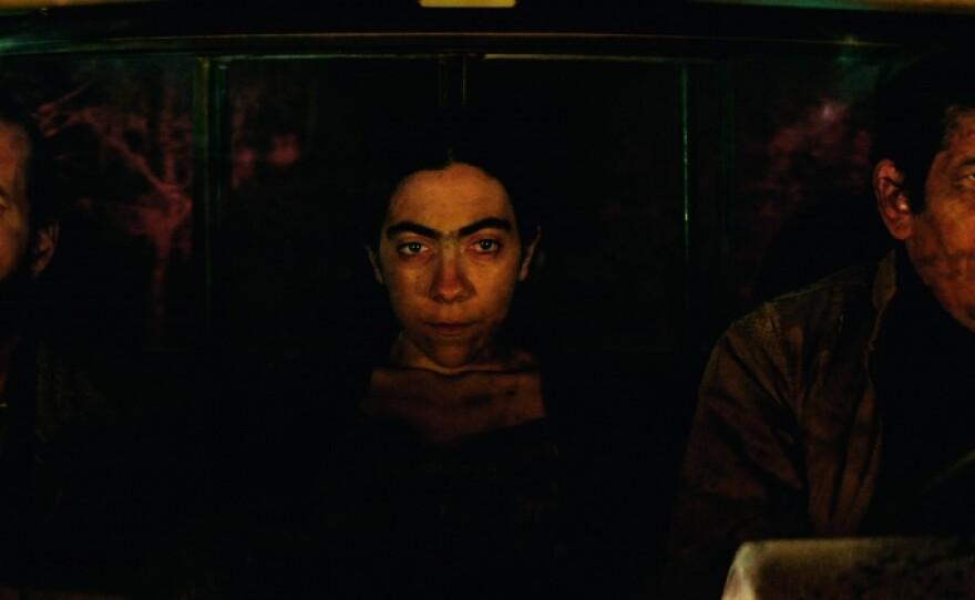 """Esteban Bigliardi, Tania Casciani, and Victor Lopez star in Alejandro Fadel's """"Murder Me, Monster (Muere, monstro, muere),"""" part of San Diego Latino Film Festival's """"Un Mundo Extraño"""" showcase."""
