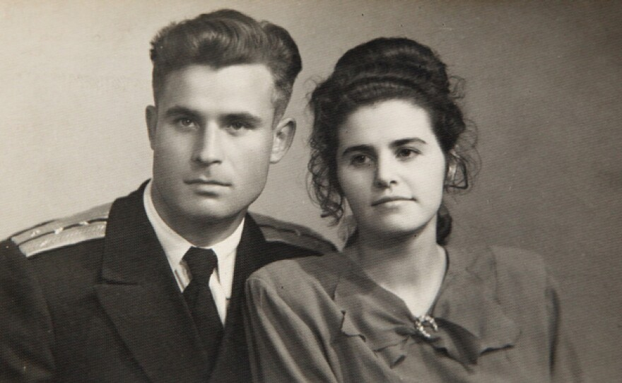 Vasili Arkhipov and wife Olga Arkhipova. Collection of photos of Brigade Chief of Staff on B-59 Vasili Arkhipov, 'The Man Who Saved the World', from the personal archive of his widow Olga Arkhipova. Vasili Alexandrovich Arkhipov was a Soviet naval officer, who, during the Cuban Missile Crisis prevented the launch of a nuclear torpedo and therefore a possible nuclear war.