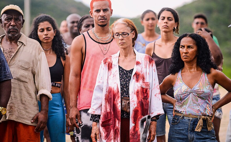 """Brazil's """"Bacurau"""" had been scheduled as part of the San Diego Latino Film Festival earlier this month but the festival was canceled because of coronavirus concerns. Now you can purchase a virtual ticket to see the film."""