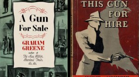 """""""A Gun For Sale"""" was the British title for Graham Greene's 1936 novel but in the U.S. it was published as """"This Gun For Hire,"""" which was also the name used for the 1942 film adaptation."""