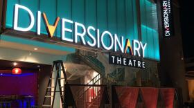 Diversionary Theatre was still cleaning up the last bits of its extensive remodel as it prepares to reopen to live performances. Sept. 21, 2021
