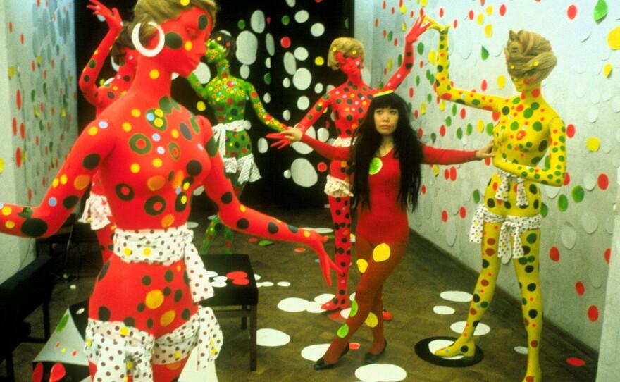 "Heather Lenz' ""Kusama: Infinity,"" closing night film at the Spring Showcase,  looks to artist Yayoi Kusama."