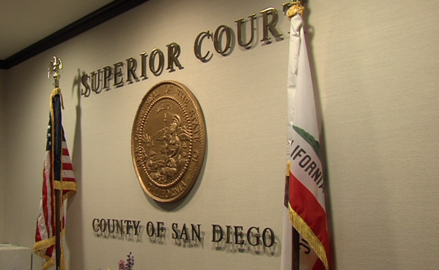 The San Diego Superior Court is shown in this undated photo.