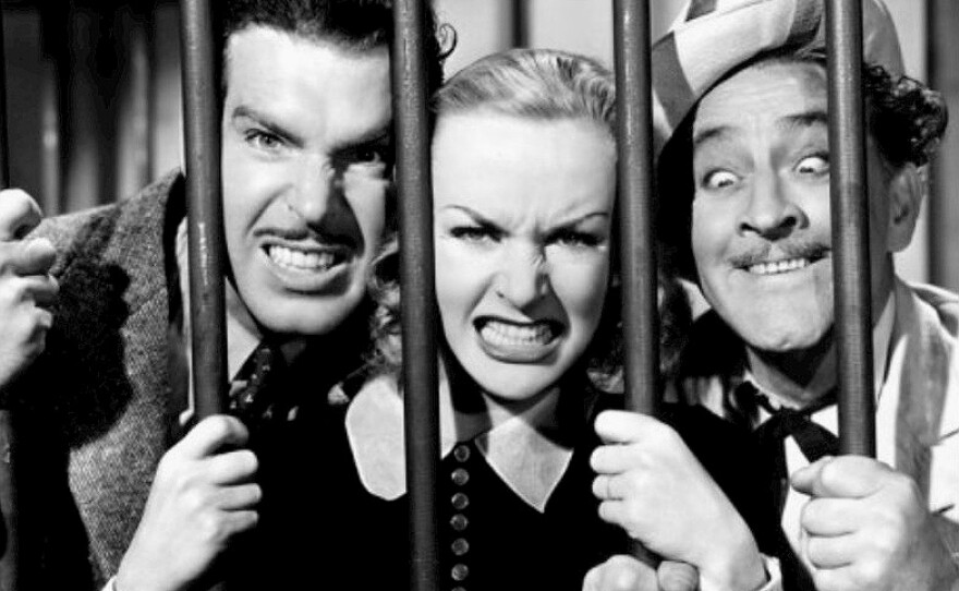 """If you are looking to escape the confines of quarantine you will find the perfect cohorts in Fred MacMurray, Carole Lombard, and John Barrymore in the screwball comedy """"True Confession."""""""