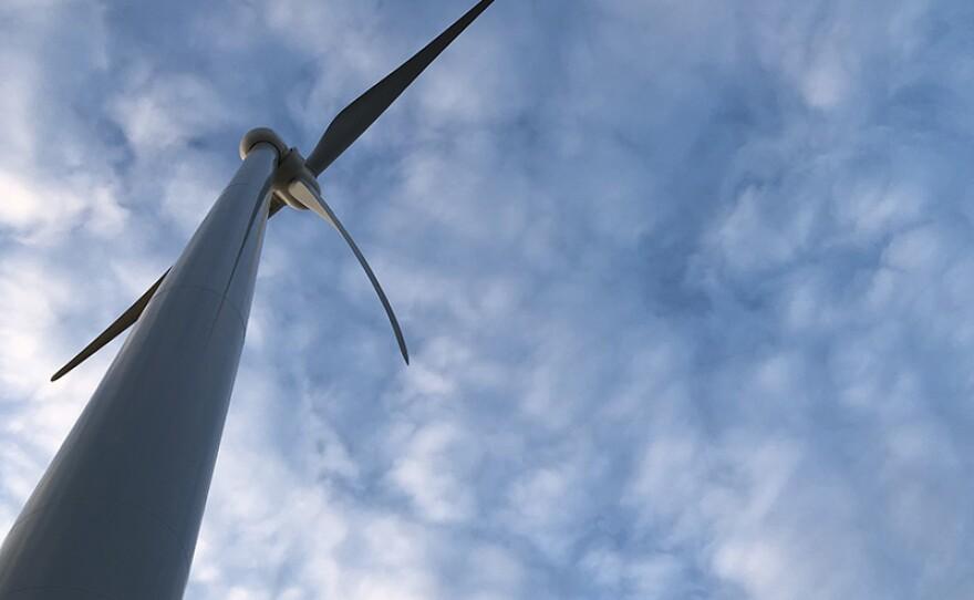 Wind turbine at the North Findlay Wind Campus in Findlay, Ohio.