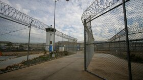 The entrance to the Richard J. Donovan Correctional Facility in Otay Mesa is shown in this undated photo.