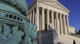 The Supreme Court is seen in Washington, Friday, April 20, 2018.