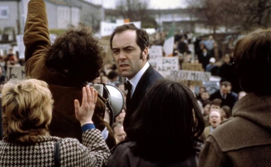"Jimmy Nesbitt plays Ivan Cooper in Paul Greengrass' 2002 film ""Bloody Sunday."""