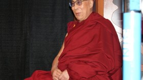 The 14th Dalai Lama, Tenzin Gyatso, is interviewed for KPBS Midday Edition before a symposium at San Diego State University.