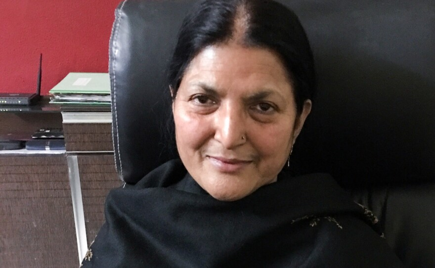 """Seema Parveen, 42, has been divorced by three different men. In India's Muslim community, a husband can divorce his wife by uttering the word """"talaq"""" — Arabic for divorce."""