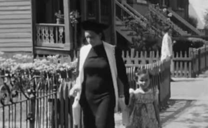 """A scene from """"Heaven-Bound Traveler,"""" one of the incomplete films of pioneering African American filmmakers James and Eloyce Gist."""