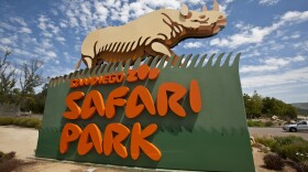 The San Diego Zoo Safari Park's sign appears in this undated photo.