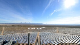 The Ivanpah Solar Electric Generating System, which has a total of 347,000 mirrors that power 140,000 homes in California, pictured on Thursday, Feb. 13, 2014 in Nipton, California.