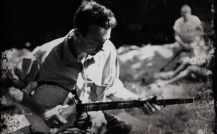 Young Pete Seeger (undated photo)