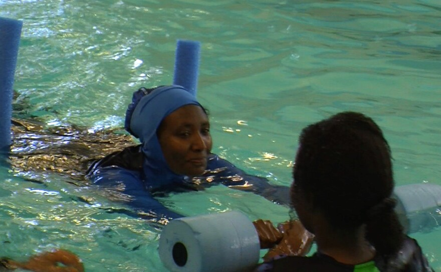 Before the YMCA started women-only swim classes, Birefes Ali hadn't been in the water since she was a teenager in Ethiopia.