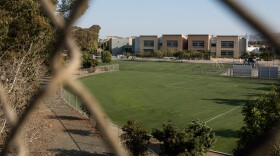 Willow Elementary School in the San Ysidro School District is shown from a pedestrian bridge on Sept. 24, 2018.