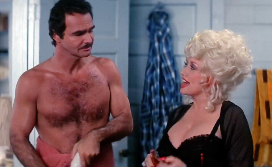 """Burt Reynolds and Dolly Parton star in """"The Best Little Whorehouse in Texas,"""" which screens this Wednesday, Feb. 5 at Digital Gym Cinema as part of the monthly program Big Gay Sing Along."""