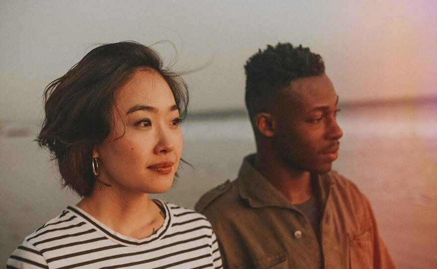Ruby Park and Elijah Boothe in 'Pink Opaque,' which premieres at the 2020 San Diego Black Film Festival Jan. 29, 2020.