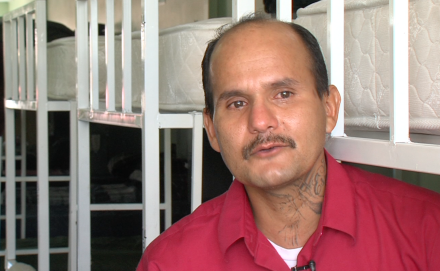 Carlos Guzman Garcia discusses his recovery from depression and a drug addiction he developed after his deportation from San Diego.