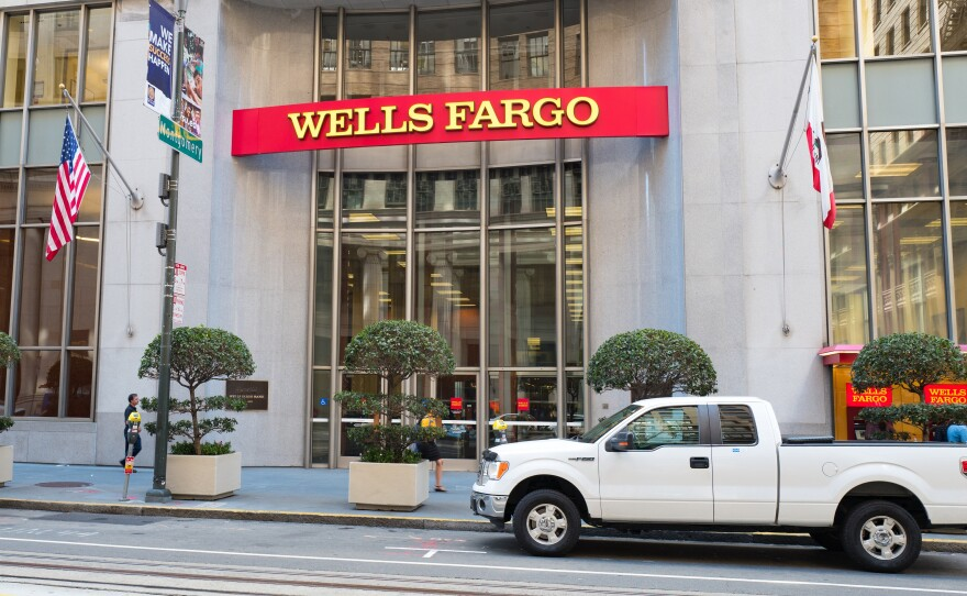 Wells Fargo, which has endured a cascade of scandals in recent years, announced Monday that two board members have resigned.